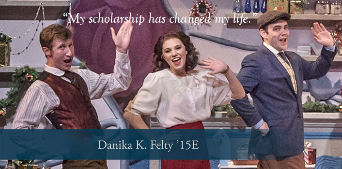 Danika Felty '15E