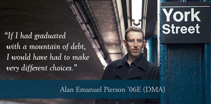 Alan Pierson '06E (DMA)