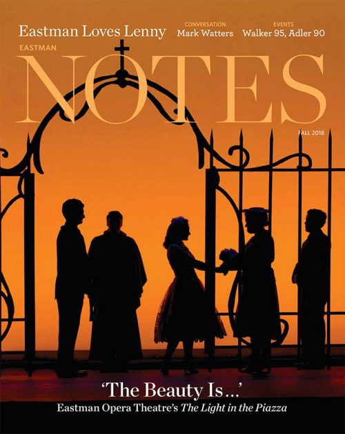 Cover - Eastman Notes Fall 2018