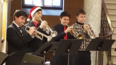 4 trumpeters