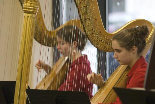 University Of Rochester Tuition >> Harp Ensemble - Eastman Community Music School
