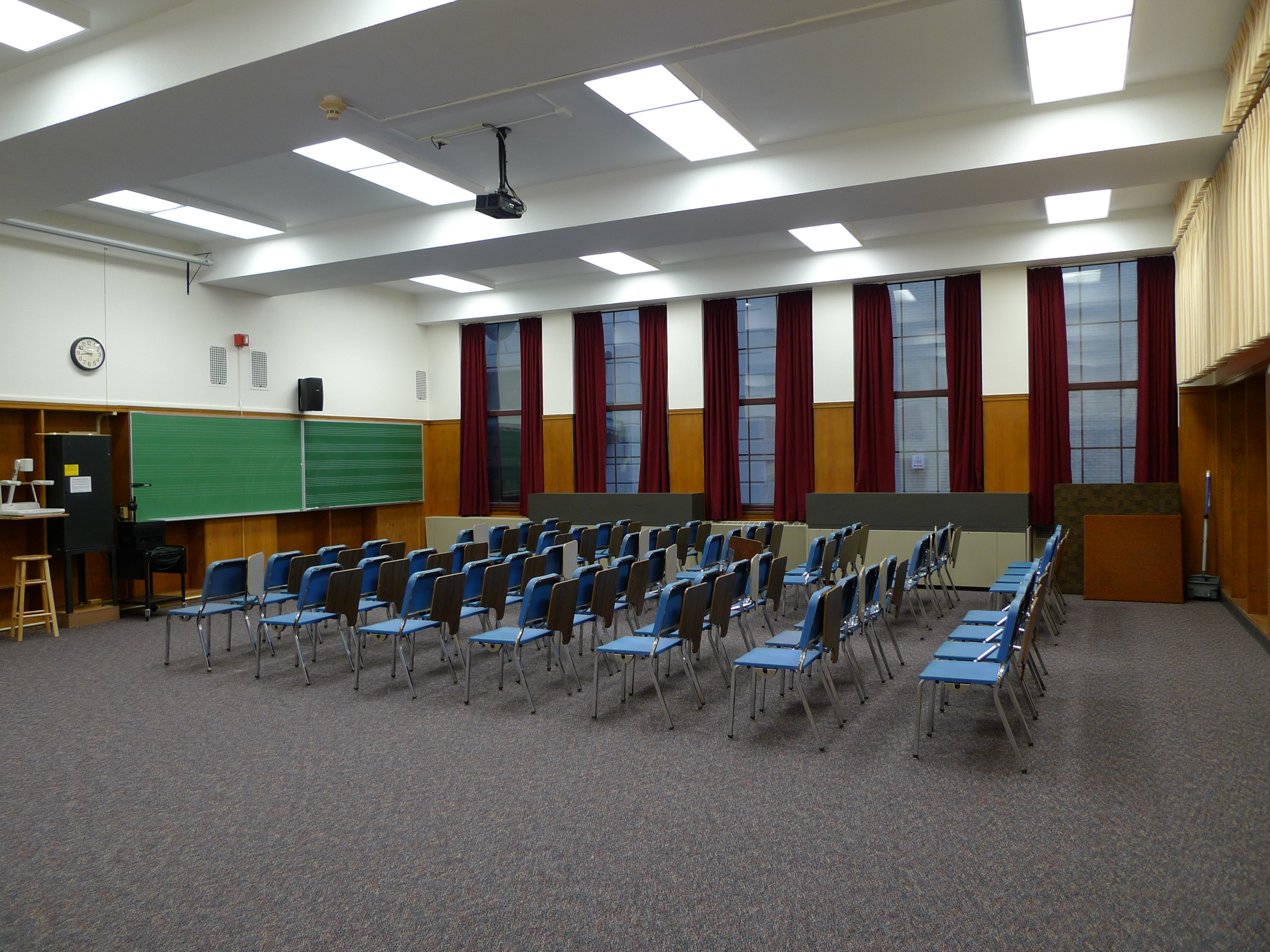Classroom Design Cooperative Clusters ~ Old and new sibley library class rooms technology