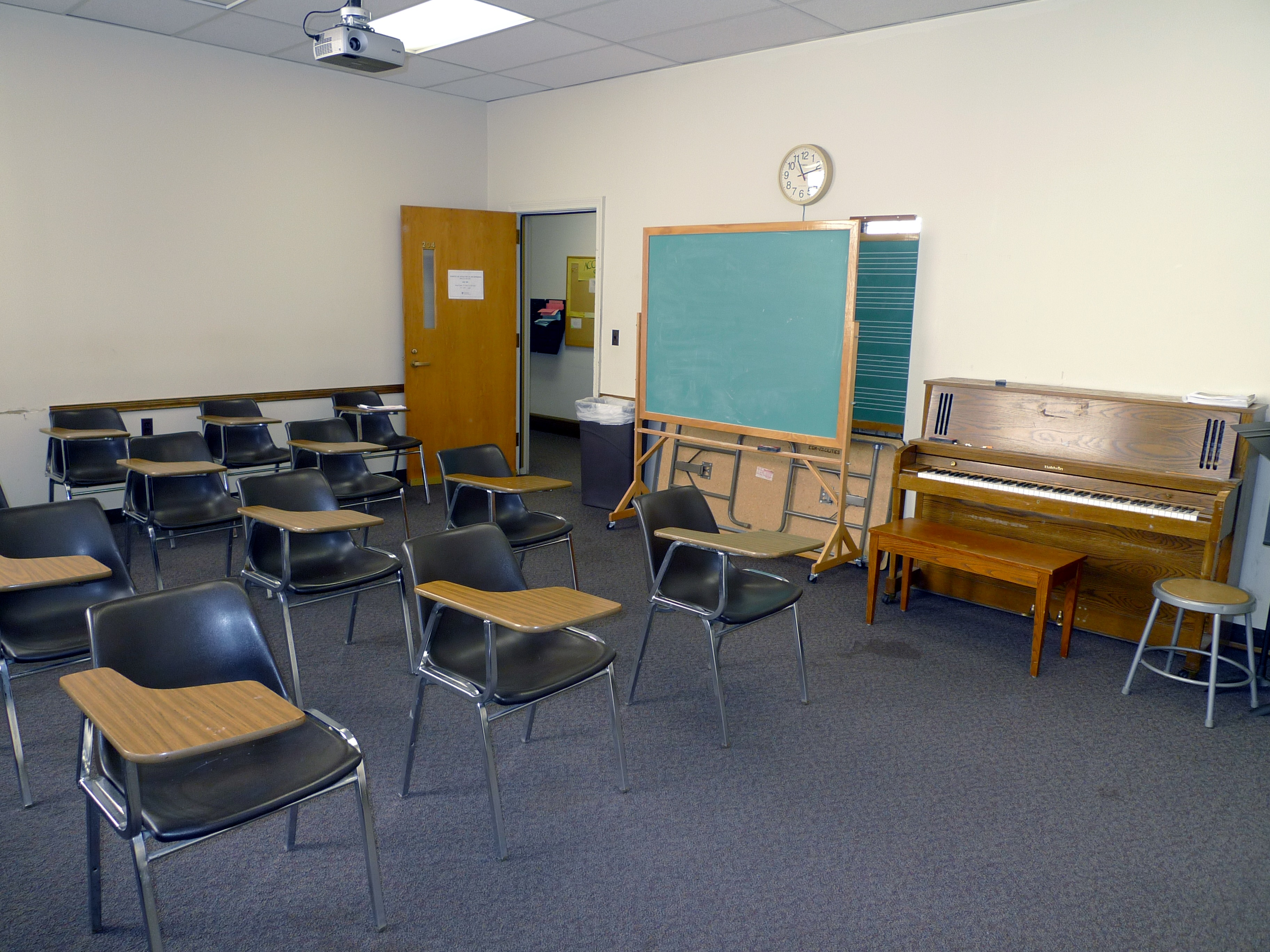 Old And New Sibley Library Class Rooms Technology And