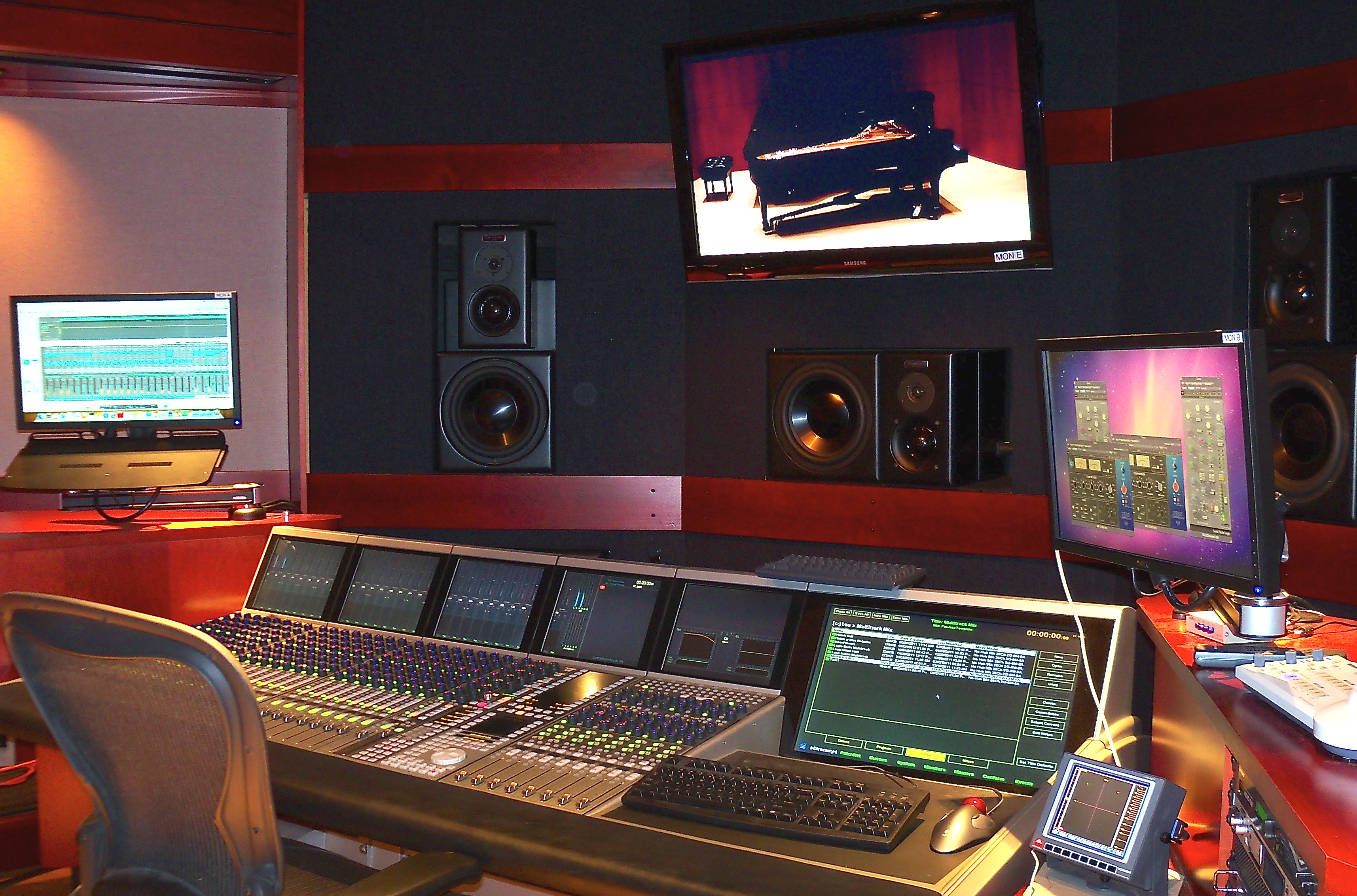 Stupendous Control Room E Technology And Media Production Eastman School Largest Home Design Picture Inspirations Pitcheantrous