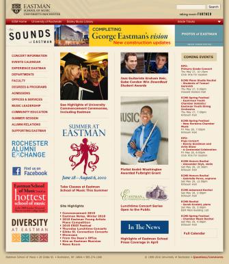 ESM Homepage 2009