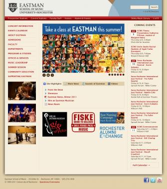 ESM Homepage 2011