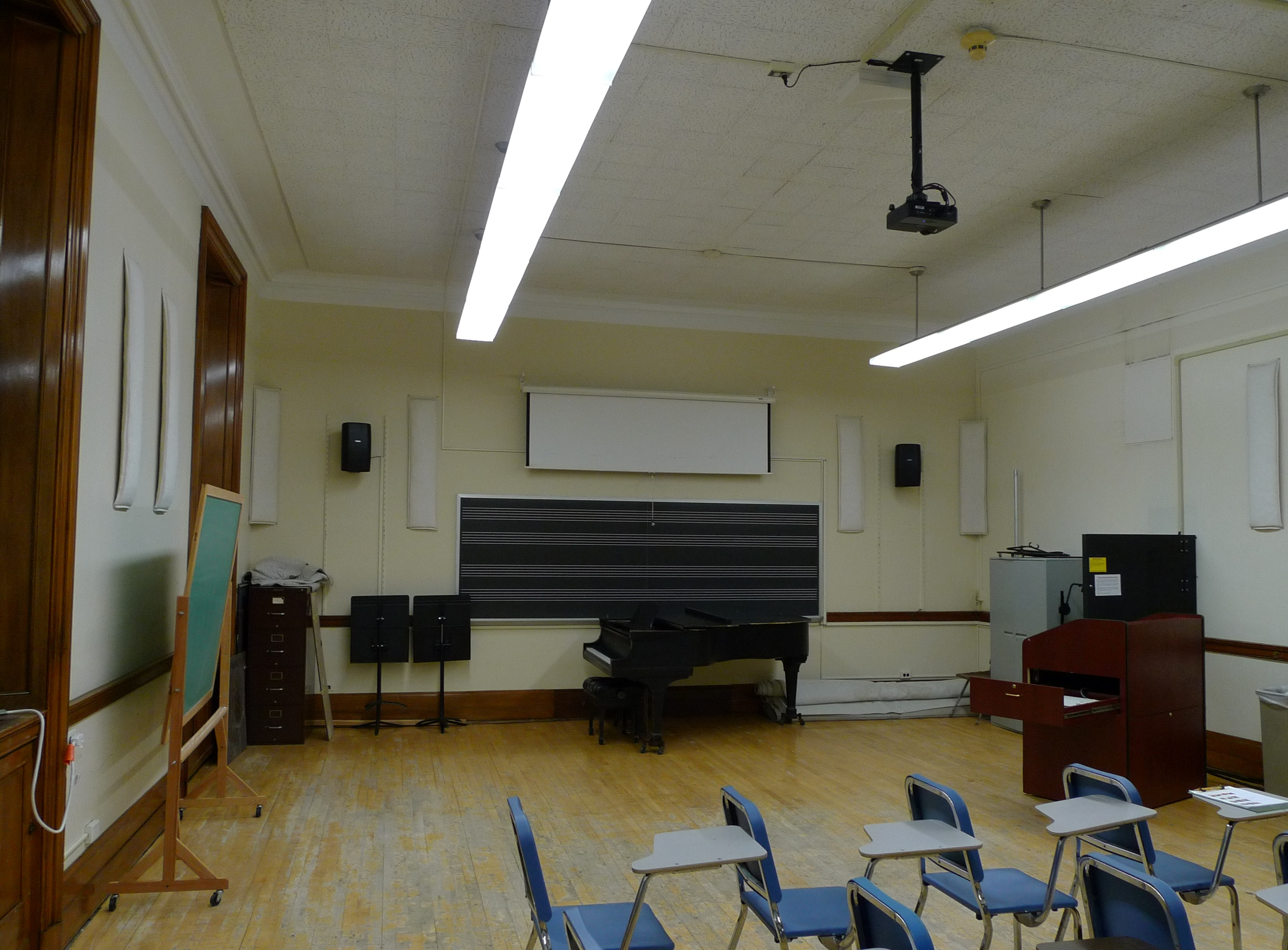 Eastman School Main Class Rooms – Technology and Media