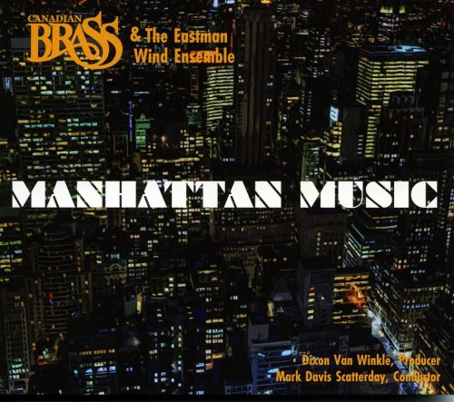 Manhattan Music CD Cover