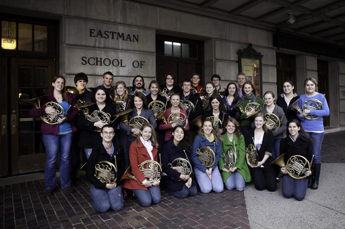 Eastman School of Music Horn Studio 2010-2011 photo