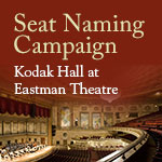 Kodak Hall Seat Naming
