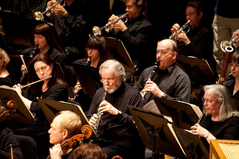 Portland Symphony Orchestra's Wind Section