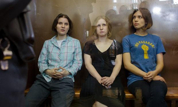 Nadezhda Tolokonnikova, Maria Alekhina, Yekaterina Samutsevic