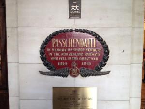 Dunedin plaque
