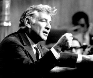 Leonard Bernstein Lecturing