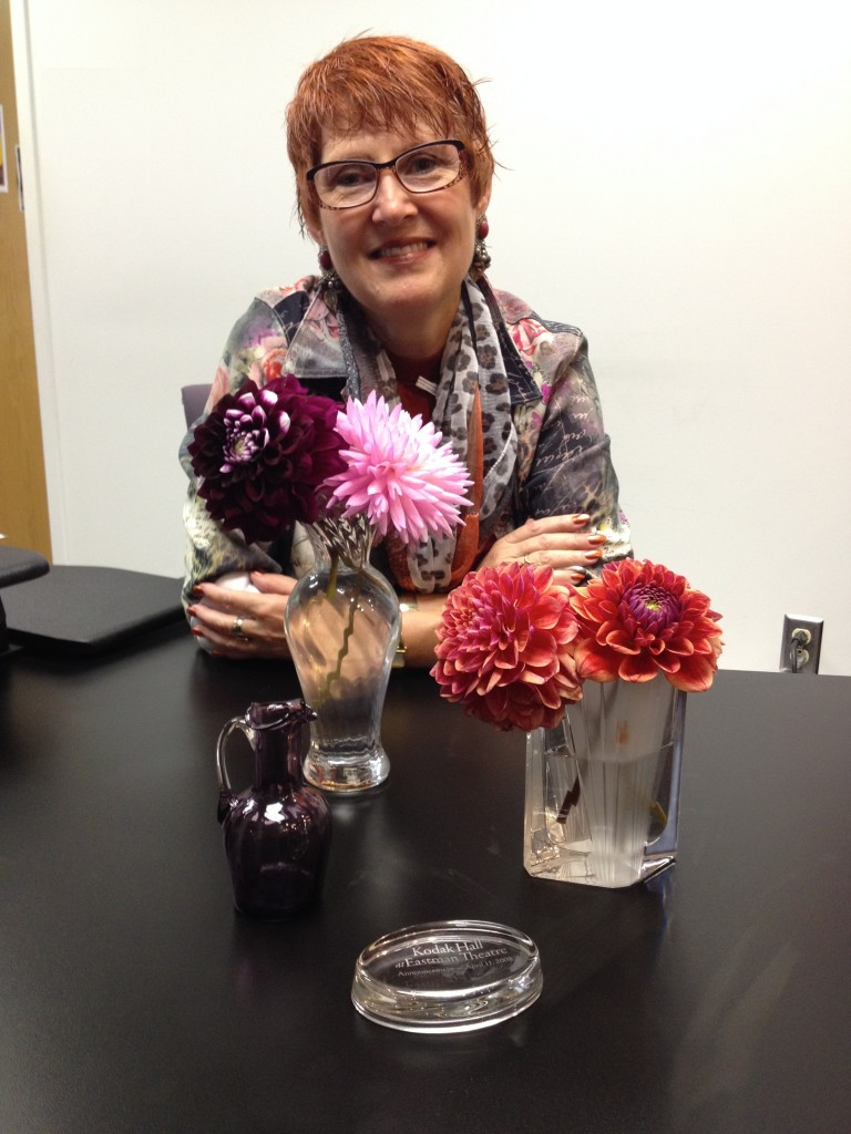 Linda Altpeter, Administrative Assistant, ALP Curriculum Coordinator, IML: Linda keeps everyone organized! When she is not working Linda loves decorating her home, caring for her garden, especially the dahlias and caring for the people around her.