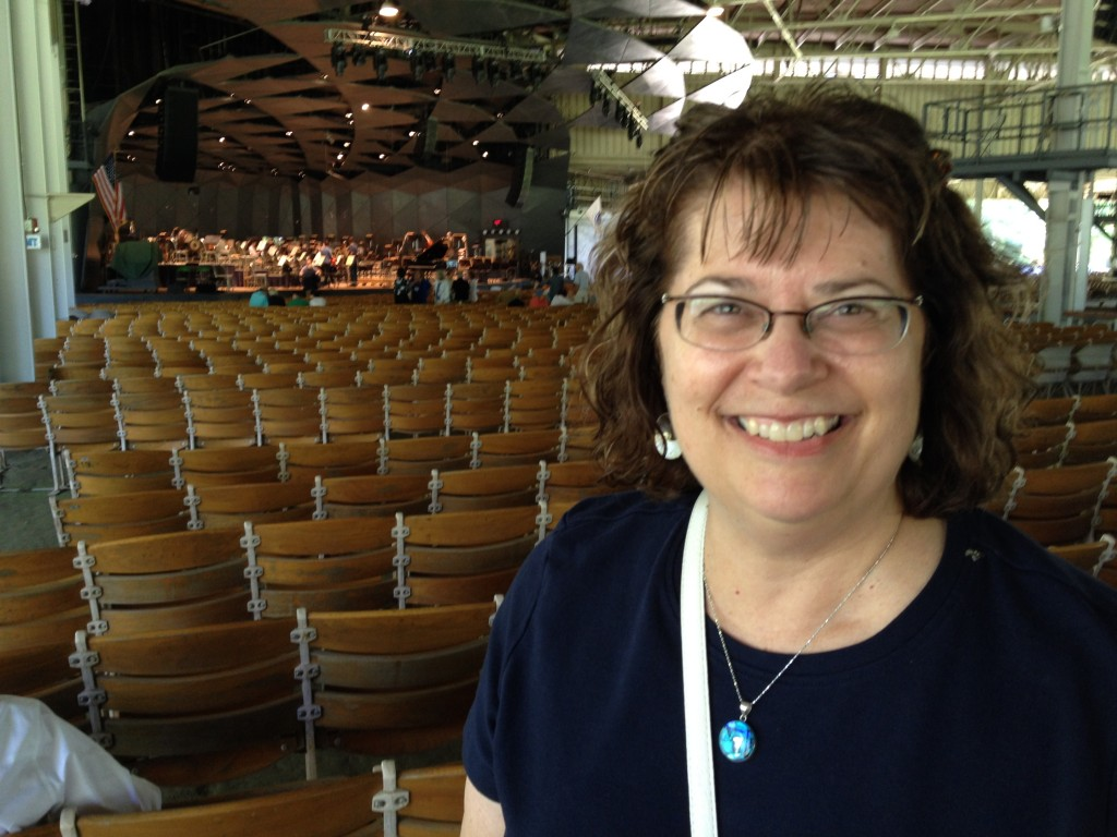 Arts Leadership Program Assistant Director Leslie Scatterday recently spent a few days at Tanglewood listening to the Boston Symphony Orchestra, hearing YoY o Ma live for the first time and watching rehearsals of and getting to meet BSO's new music director, Andris Nelsons.  A truly inspiring time before heading back to Eastman and putting the final touches on ALP curriculum, intern and recruitment projects slated for the next academic year.
