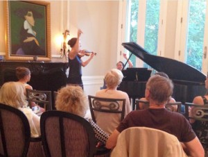 Alison's recital