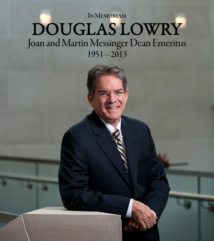 In Memoriam - Douglas Lowry
