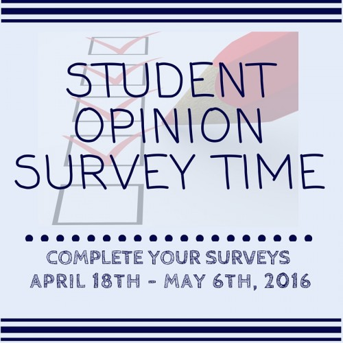 Student Opinion Survey Time Image