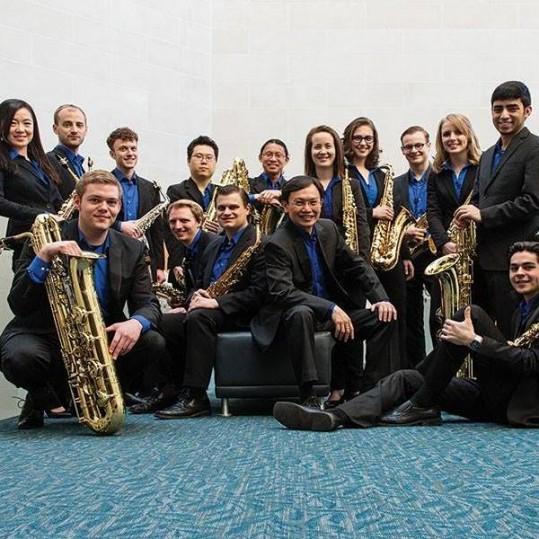 Eastman Saxophone Project members