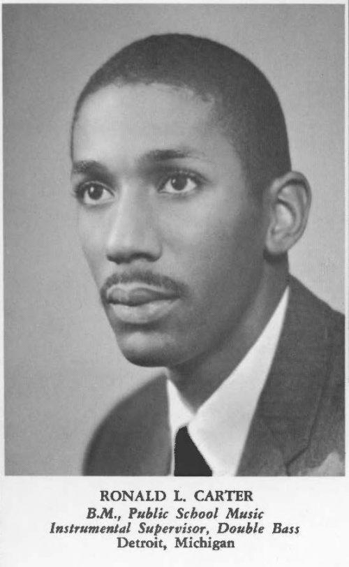 1959 SCORE yearbook photo of Ronald L. Carter
