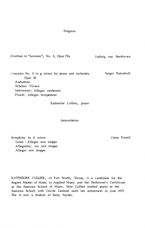 Eastman Philharmonia and Katherine Collier concert program Piano_Page_2