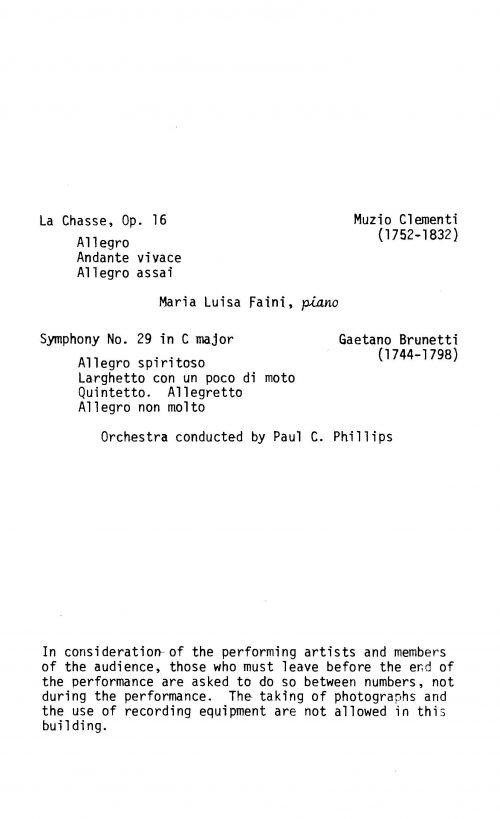 Eighteenth Century Italy Concert program Page 4