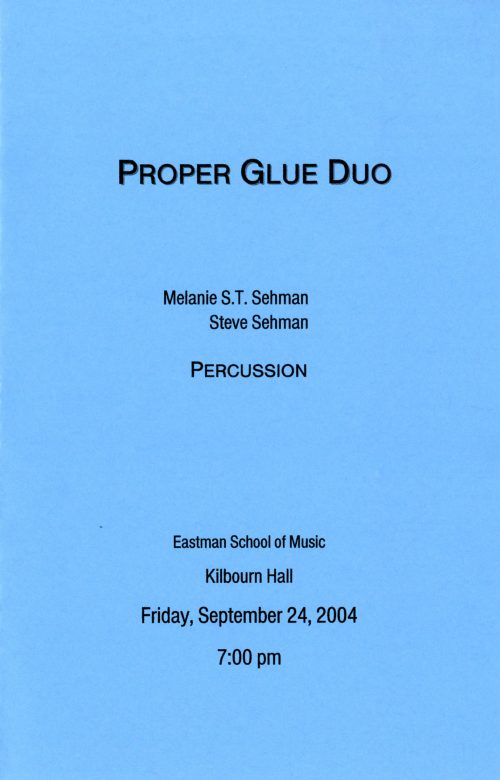 2004 September 24 Proper Glue Duo page 1