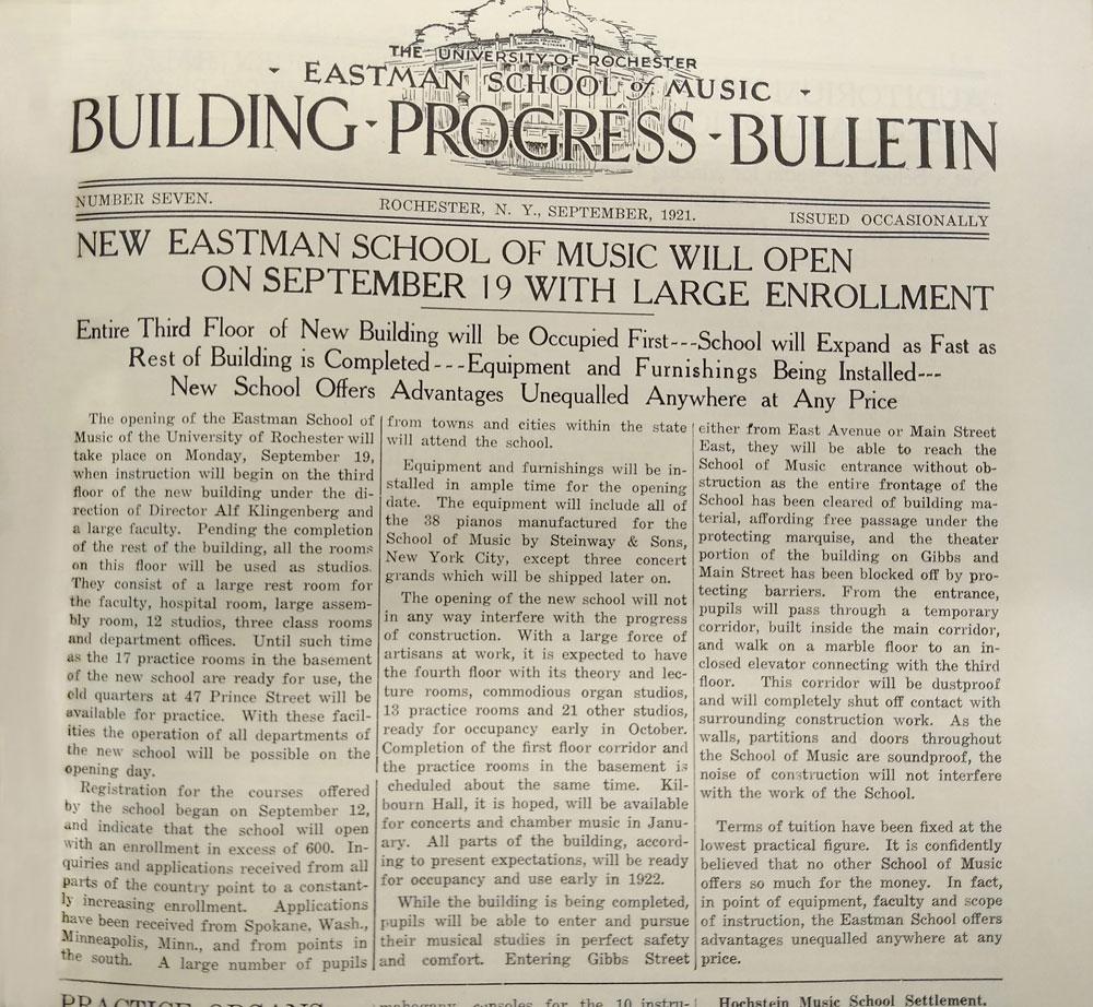 Building Progress Bulletin
