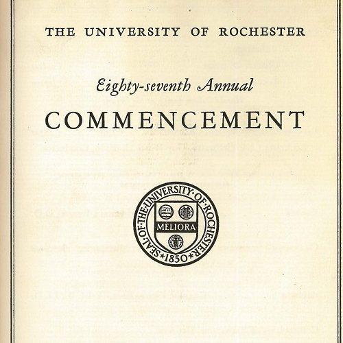 Commencement 1937