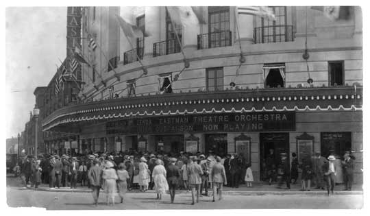 Eastman Theatre Grand Opening 1922