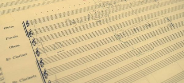 The Karel Husa Archive contains more than 70 manuscripts, including this pencil fair copy of Music for Prague 1968. The archive also contains Husa's large library of scores (including annotated performance scores), books, and recordings. [Karel Husa Archive, Box 6-E/20]