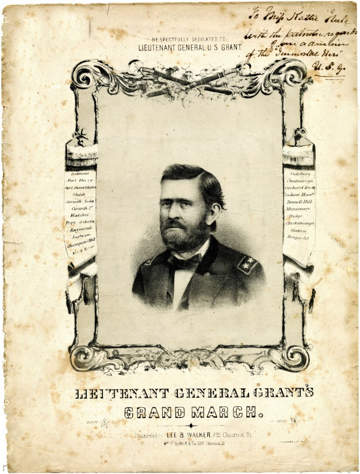 Lieutenant General Grant's Grand March