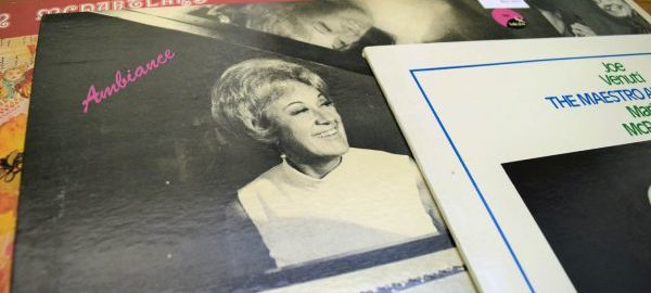 The Marian McPartland Collection contains a substantial series of sound and audio-visual recordings, including several of McPartland's commercial albums, such as those pictured here, as well as masters, outtakes, and non-commercial recordings of Marian McPartland, Jimmy McPartland, and others. [records from Marian McPartland Collection, Box 103]