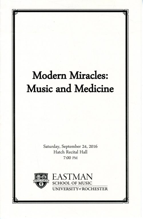Modern Miracles page 1