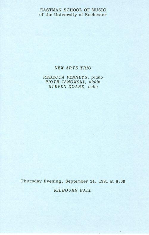 New Arts Trio page 1