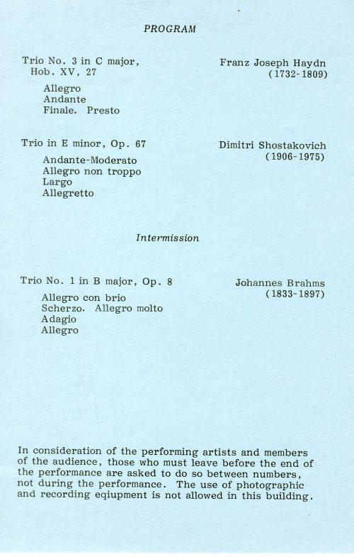 New Arts Trio page 2