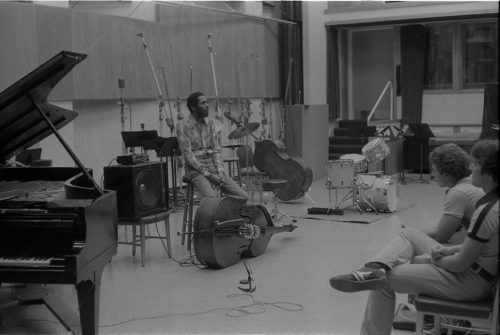 Ron Carter, '59, world-renowned bassist, sharing his wisdom with Eastman students