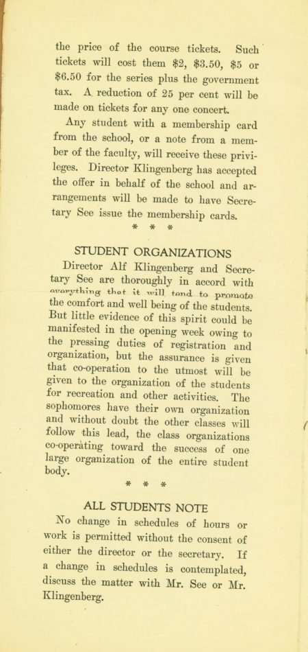 Page 2 of The Note book Sept 27 1921