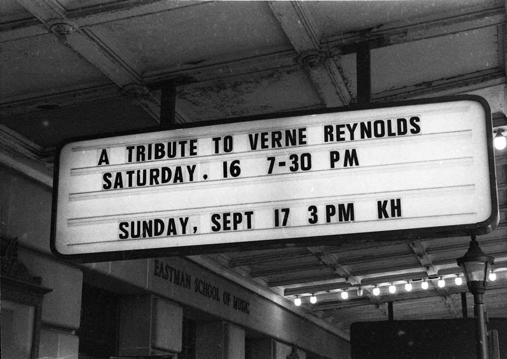 Verne Reynolds Marquee