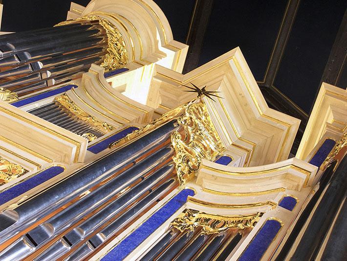 Craighead-Saunders Organ, named after Eastman organ professors David Craighead and Russell Saunders, was inaugurated in 2007.