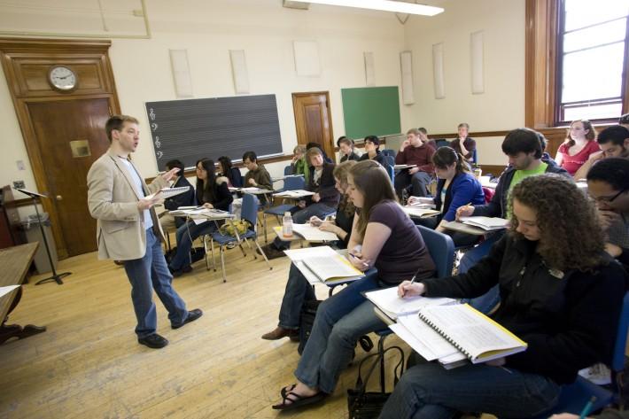 Roger Freitas, Musicology Classroom