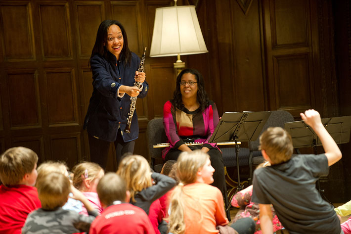 Music for All brings student chamber music performances throughout the Rochester community each spring.