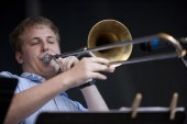Photos of Eastman: Outstanding Eastman Community Music School students make up the Honors Jazz Ensemble, which performs each year at the Xerox Rochester International Jazz Festival.