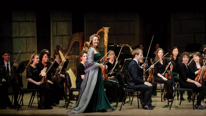 ESM Philharmonia with Renee Fleming at Lincoln Center