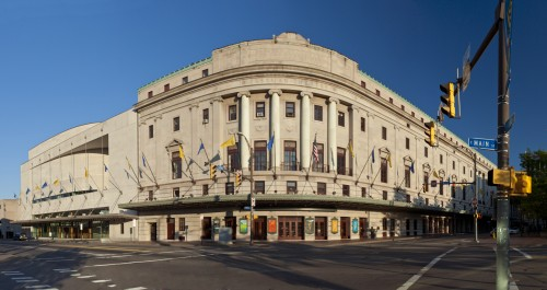 Eastman Theatre Entrance, Panoramic View
