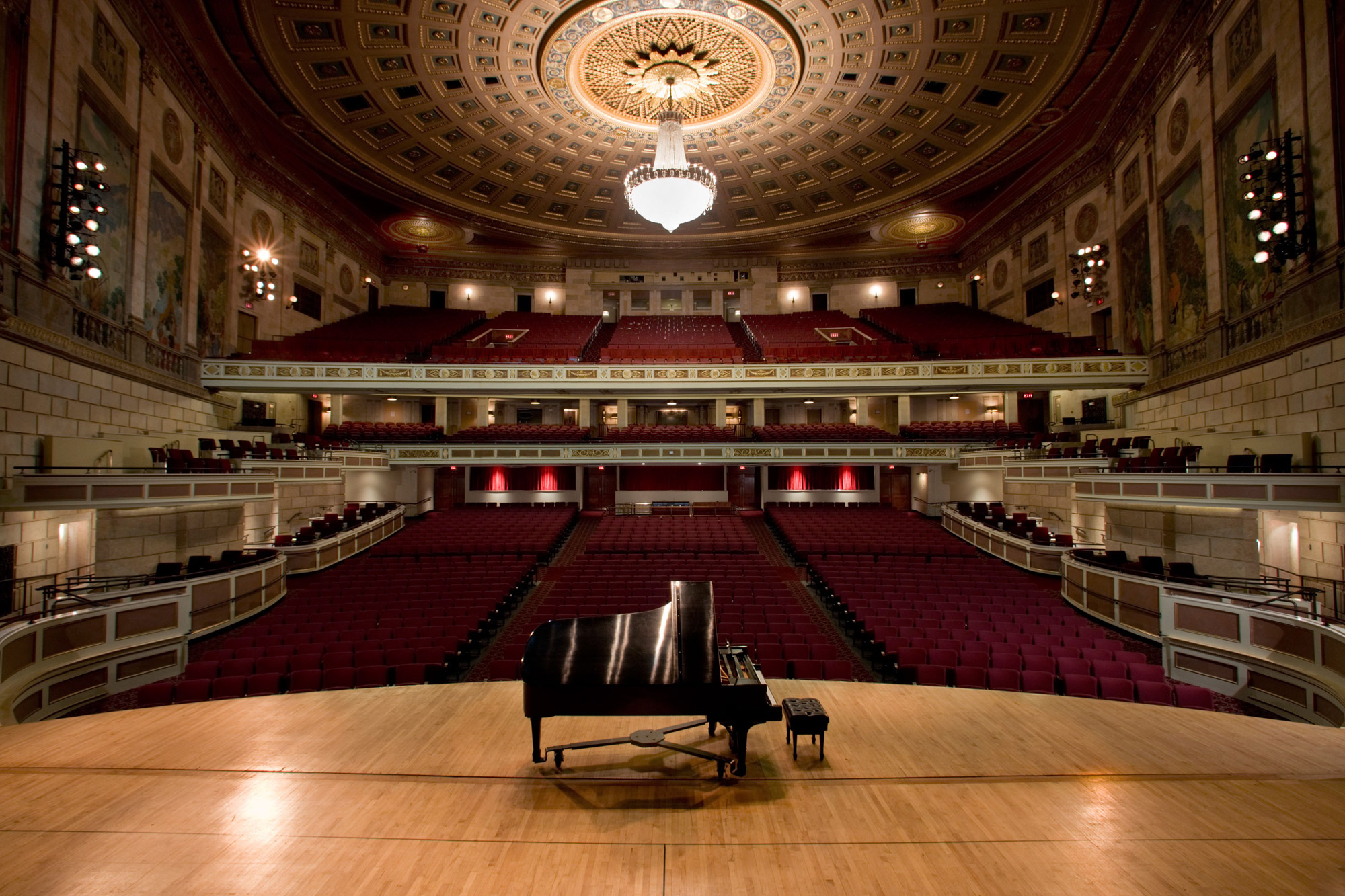 Kodak Hall Eastman Theatre At Stage View Seating Chart