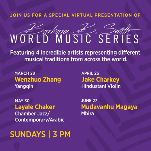 World Music Series poster
