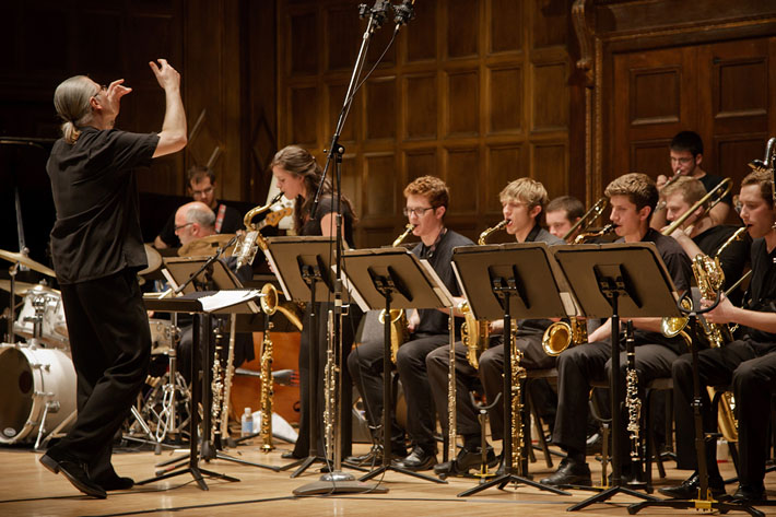 Eastman New Jazz Ensemble led by David Rivello