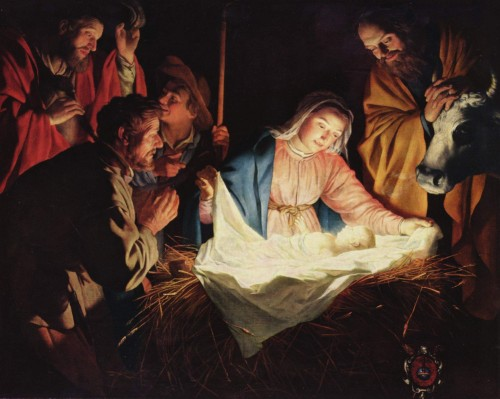 Adoration of the Shepherds van Honthorst (1622)